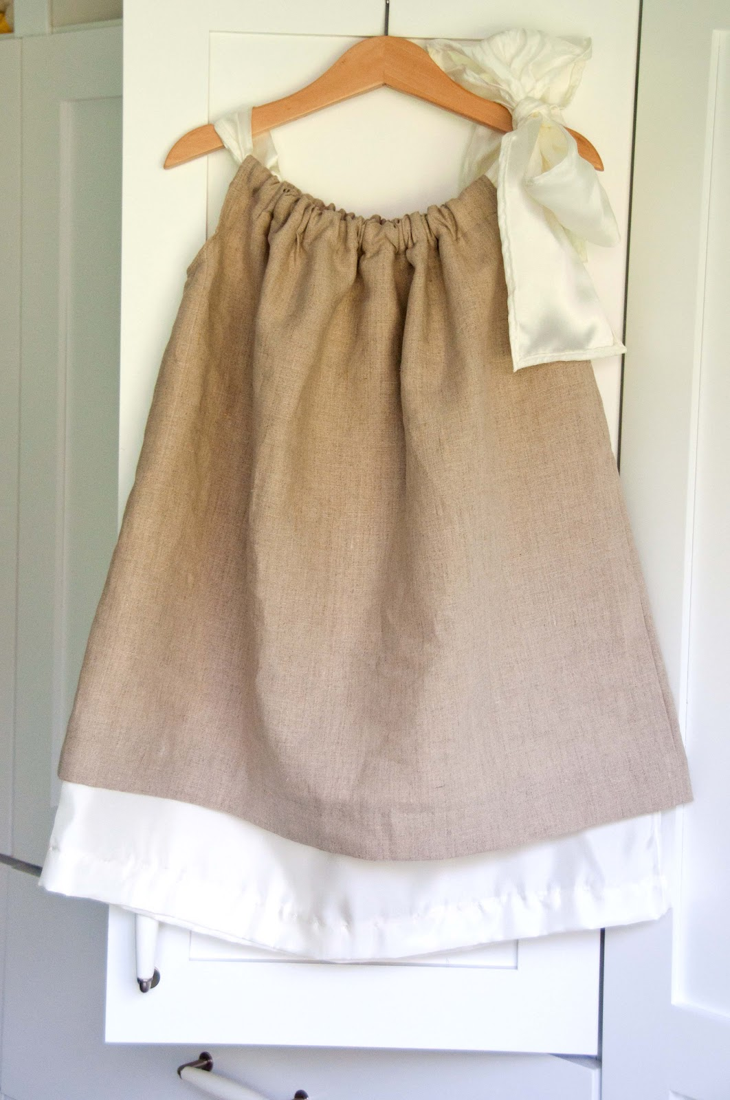 sewing kids darling pillowcase dress