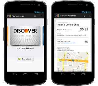 Google Wallet supports mojor bank cards
