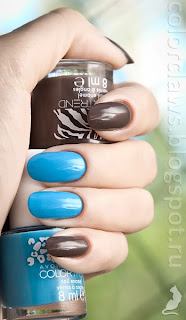 Avon Color Trend: Lioness + Roaring Blue