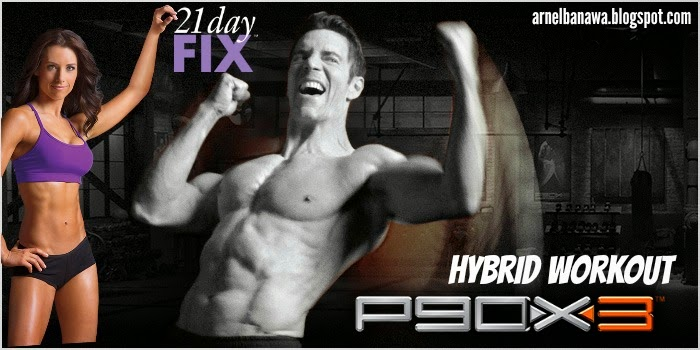 P90X3 21 Day Fix Hybrid Workout