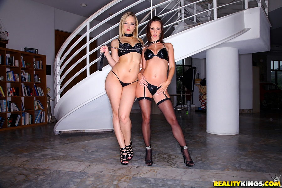 She brought over her new sex slave Jada to my place and gave her some ...