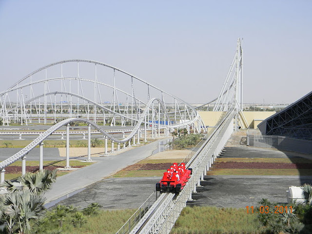 FORMULA ROSSA : WORLD's FASTEST ROLLER COASTER