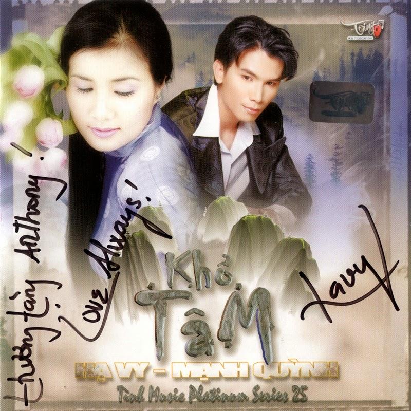 Tình Platinum CD025 - Hạ Vy, Mạnh Quỳnh - Khổ Tâm (NRG)