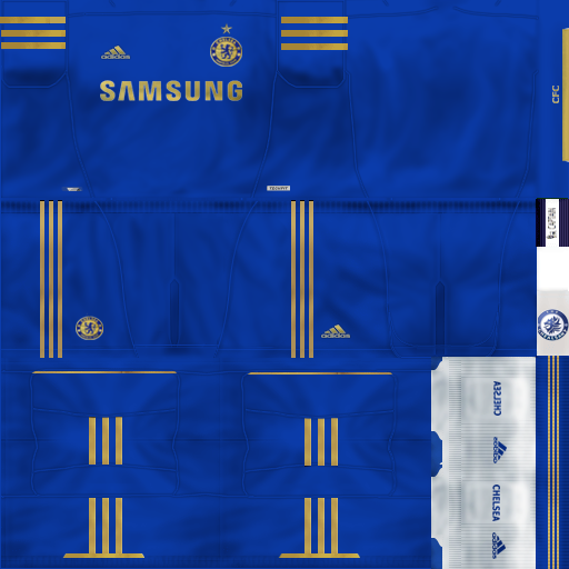 Kits Chelsea FC 12/13 by Chealsawy - PES 6 UPDATE