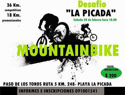 MTB - Desafío La Picada (Paso de los toros, Tacuarembó; 28/feb/2015)