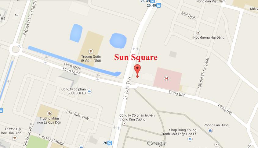 chung cư sun square,chung cu sun square,chung cư sun square 21 lê đức thọ,chung cu sun square 21 le duc tho