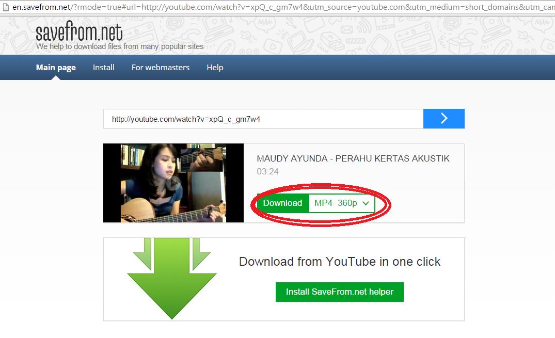 Cara Paling Mudah Mendownload Youtube Tanpa Aplikasi