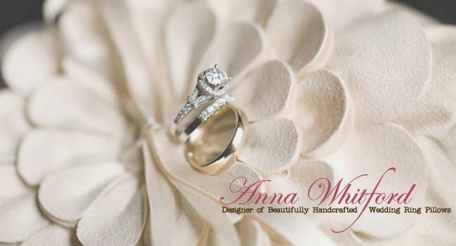 ANNA WHITFORD WEDDING RING PILLOWS