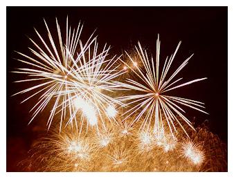 cara membuat efek kembang api di blog
