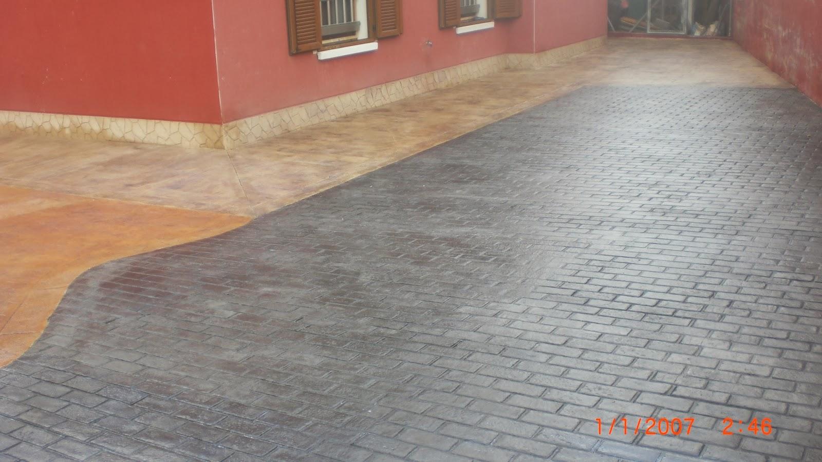 Hormig N Impreso En Finestrat Pavimentos Continuos De