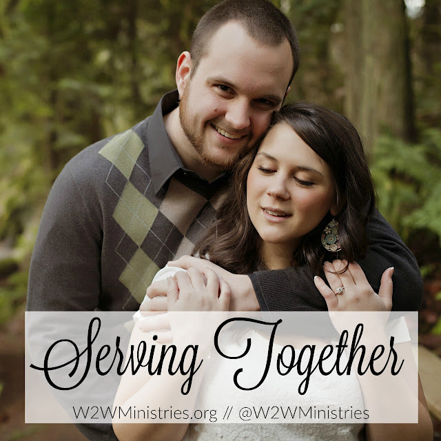 Serving together. #marriage