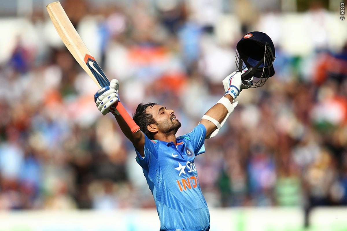 Ajinkya-Rahane-Maiden-ODI-Century-ENGLAND-vs-INDIA-2014