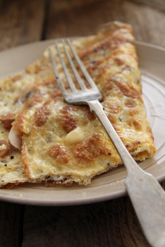 Omlet z kaparami