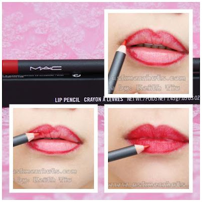 how to put on lip pencil