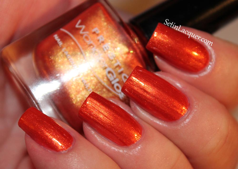 Prestige Cosmetics nail lacquer - Flame