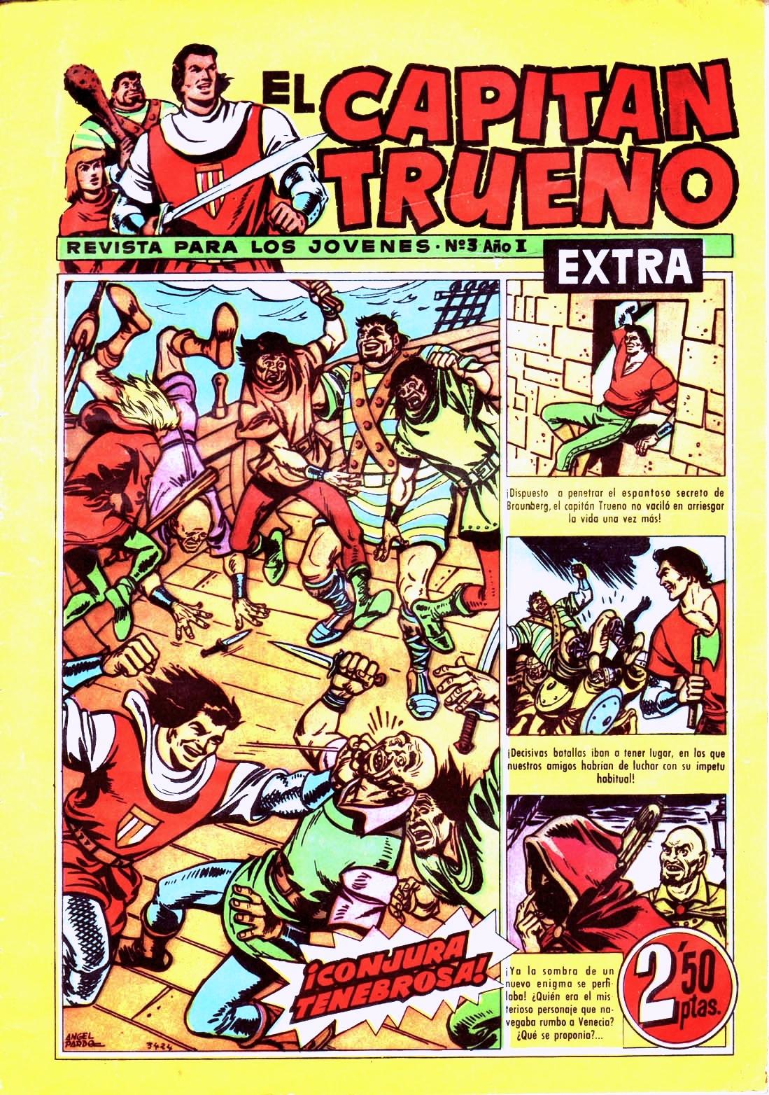 Todos los domingos: El Capitán Trueno !!