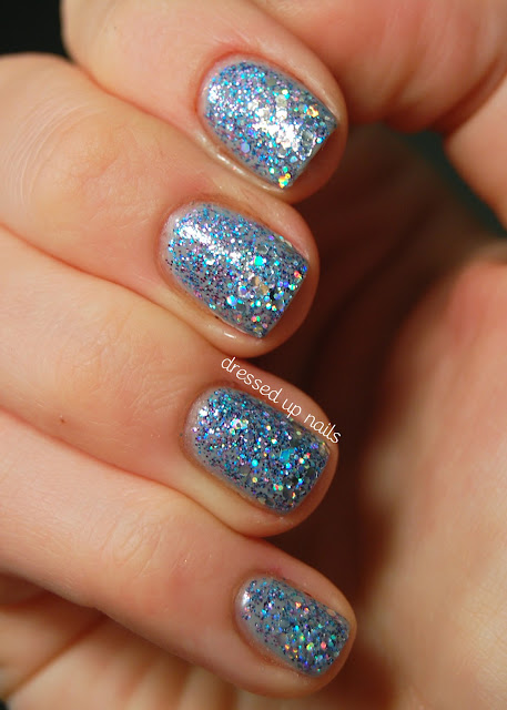 Essence Grey-t to Be Here, Color Club Jingle Jangle, Finger Paints Santa's Magic