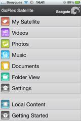 GoFlex Media iPhone