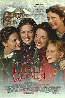 Movie poster for 90s remake of Little Women