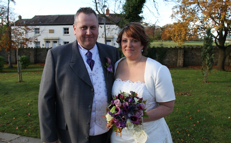 Fabulous Autumn Purple Wedding At Ribby Hall For Jo Amp Dave