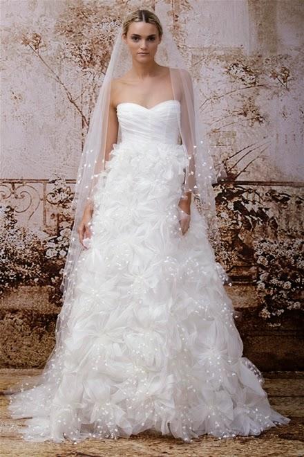Những mẫu váy cưới mùa thu xu hướng năm 2014 cho cô dâu3