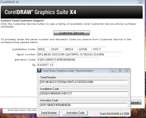 CorelDRAW X4 full version ~ free download software