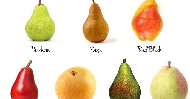 Fruit For The Office: 10 Types Of Pears Bumpy Texture Fruit