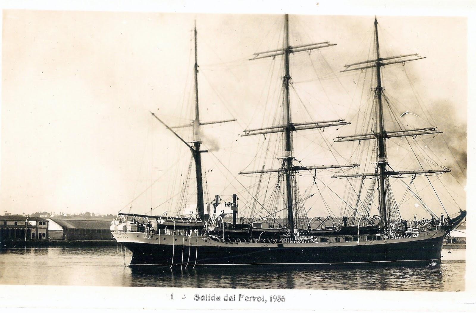 El Glenlee, antiguo buque escuela Galatea comprado por España
