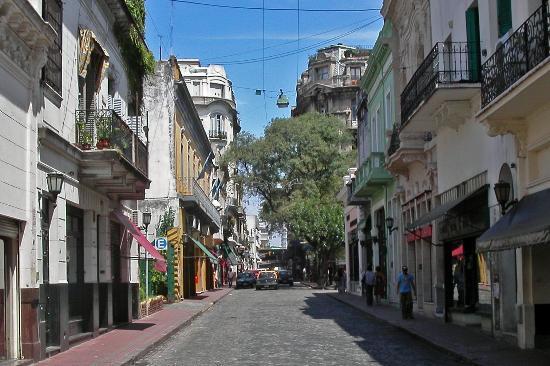 El Barrio de San Telmo en Buenos Aires