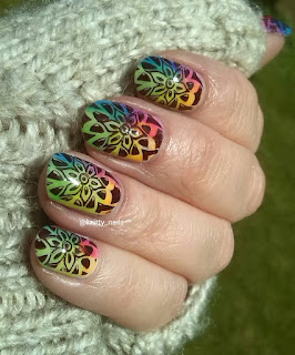 Kandy Colors jellies, Moyou London Kaleidoscope 06 and A England Lancelot