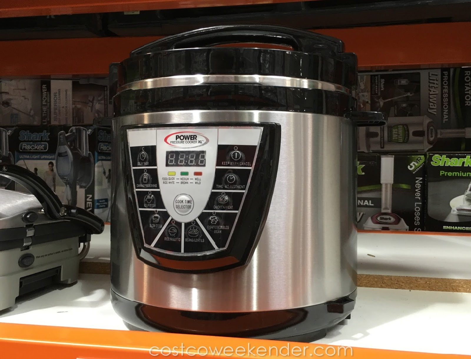 Power Pressure Cooker ~ Tristar ppc power pressure cooker xl qt costco