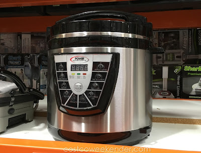 Cook delicious meals with the Tristar PPC-8 Power Pressure Cooker XL