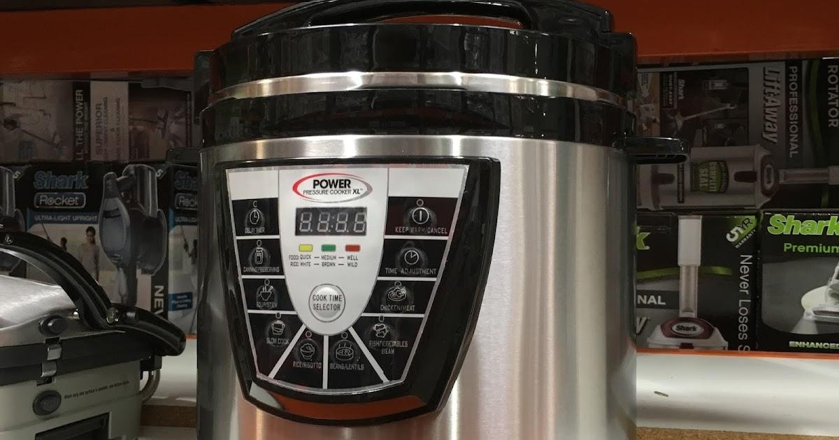 Tristar PPC 8 Power Pressure Cooker XL 8qt Costco Weekender