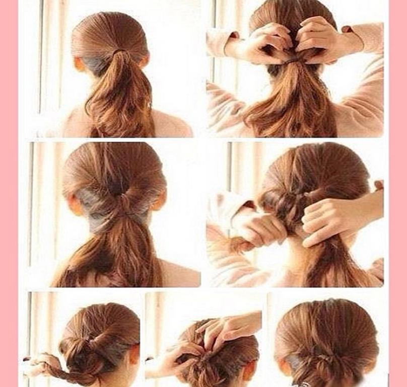 Peinados f ciles y bonitos fresh style for Recogidos bonitos y sencillos