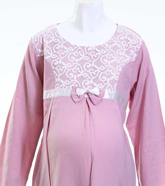 Baju Muslim Brokat Untuk Ibu Hamil Terbaru
