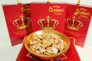 Cornflakes Spesial Dibuat Khusus Untuk Rayakan 63 Tahun Tahta Ratu Inggris