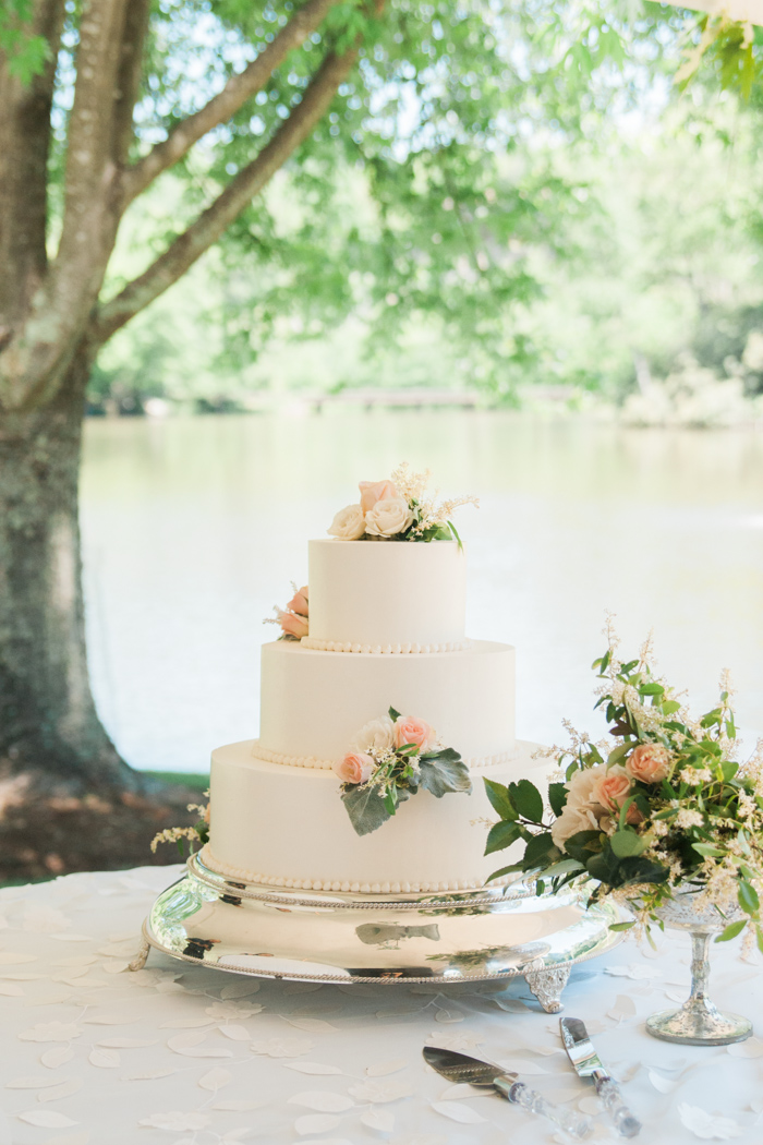 Garden Themed Outdoor Wedding at Chetola Resort in Blowing Rock, NC