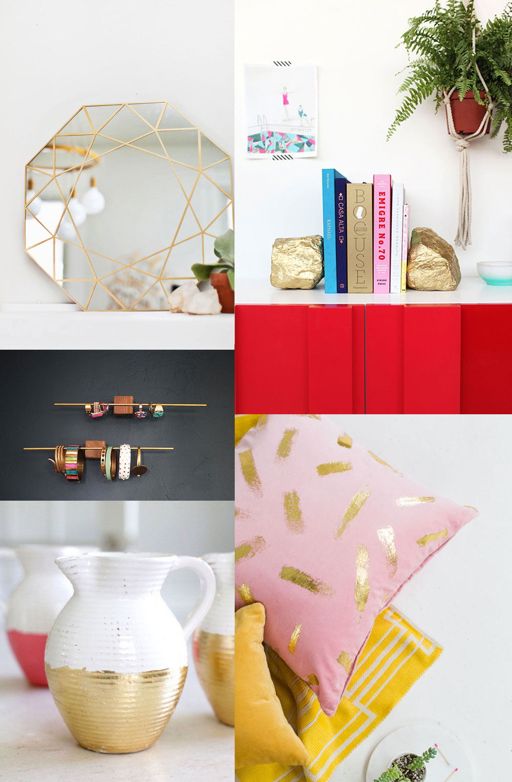 Tell diy gold decor tell love and chocolate bloglovin 39 for Decor gold blog