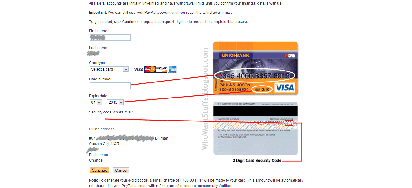 how to make a paypal account with debit card