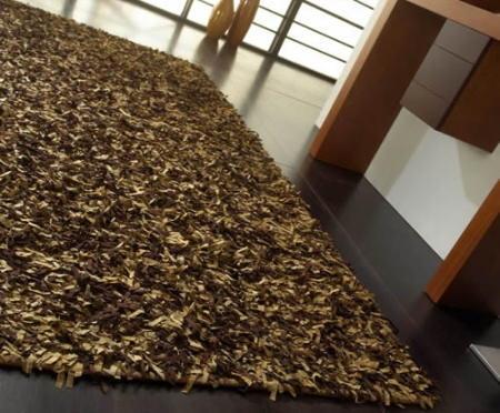 Alfombra decorando interiores - Alfombras de fibras naturales ...