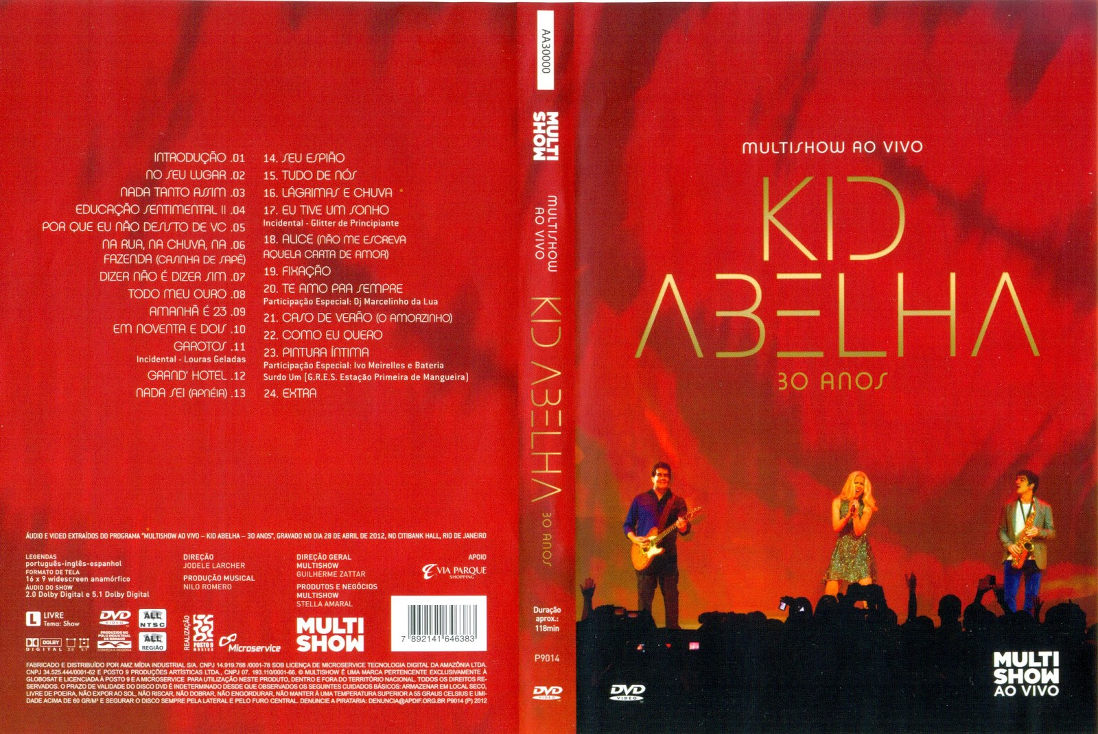 Download Kid Abelha 30 Anos Multishow 720p HDTV x264 2012 Kid Abelha 30 Anos