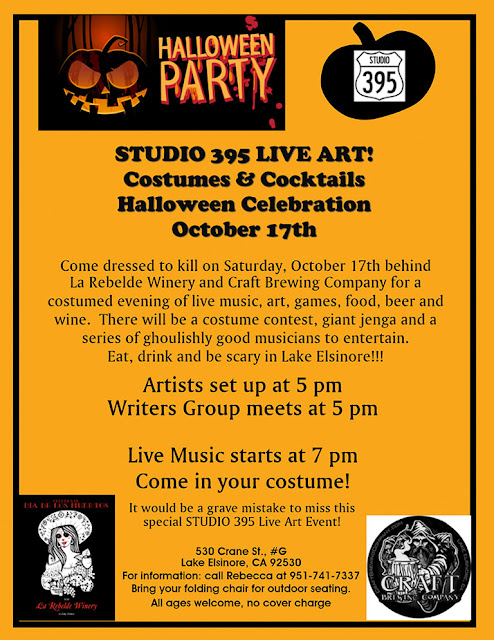 Studio 395 3rd Saturday OCTOBER 2015