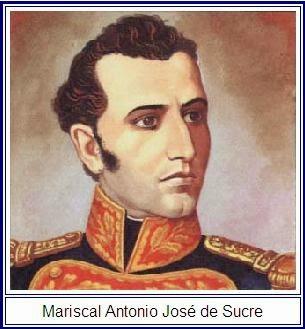 Mariscal Antonio Jose de Sucre - Batalla del Pichinhca