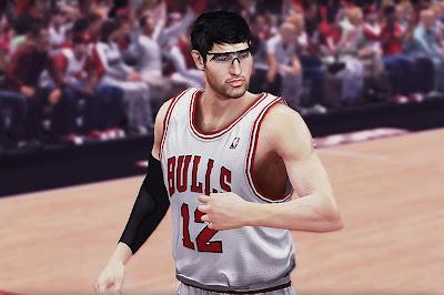 NBA 2K13 Kirk Hinrich Cyberface Mod
