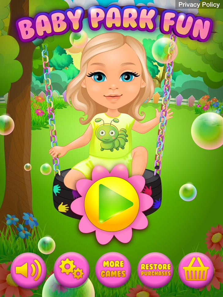 Baby Park Fun Main Game App