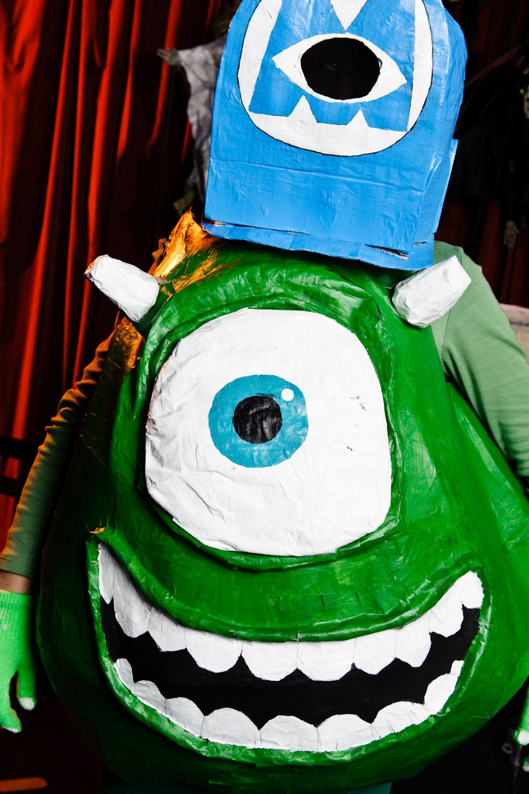 Pop Culture Costumes Fully Built Mike Wazowski