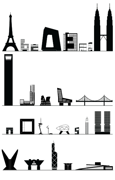 except his alphabet was based upon actual buildings which resemble the actual letters from a to z worth a revisit