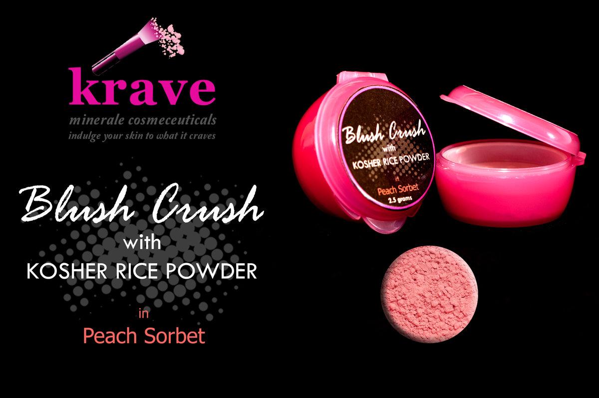 Pink Krave Minerale Blush On