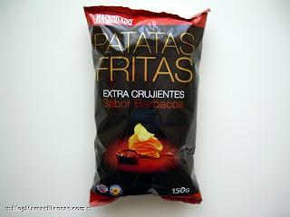 Patatas fritas extra crujientes sabor barbacoa HACENDADO