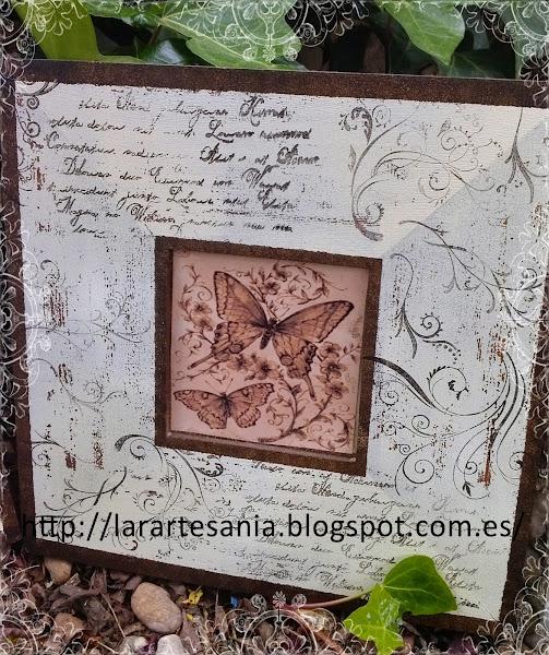 Malmas decorados con sellos